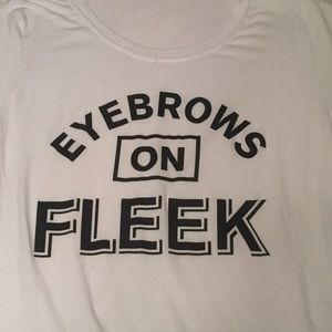Tops - Eyebrows on Fleek Tee